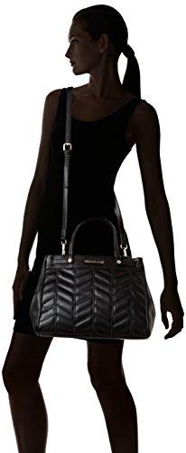 Versace Jeans Ee1Vqbbx5, Borsa a mano Donna, Nero, 17x26x37 cm (W x H x L)