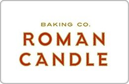 Roman Candle Baking Co. Benefit Card ($25)