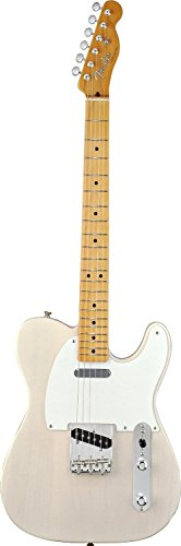 Fender Classic Series '50s Telecaster, Maple Fretboard - White - Classic Blonde Guitar