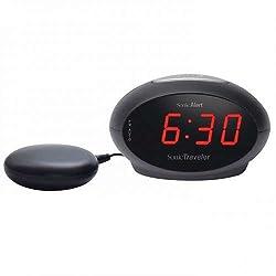 Sonic Alert Traveler SBT600ss Dual Vibrating Alarm Clock