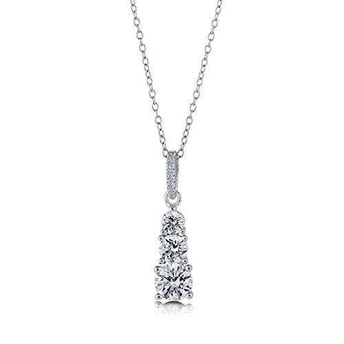 Graduated Diamond Pendant - 5
