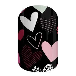 Review Jamberry Nails – Hearts