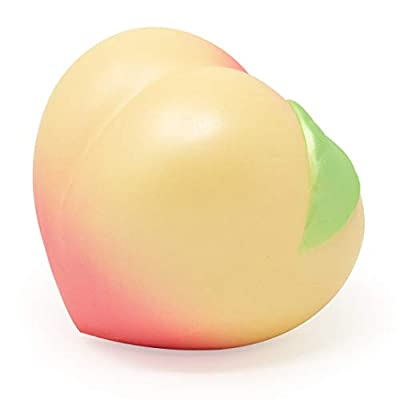 ibloom Medium Peach Squishy I Love Peach Series 3 Yellow Color: Toys & Games