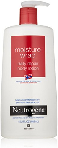 Neutrogena Norwegian Formula Moisture Wrap Daily Repair Body Lotion, 15.2 Oz (Pack of (Moisture Wrap)