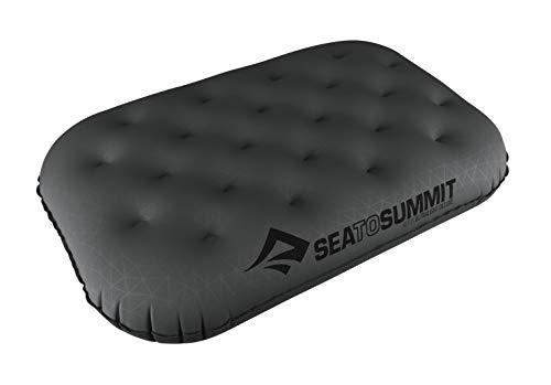 Sea to Summit Aeros Ultralight Pillow Deluxe, Grey, Deluxe (Sea To Summit Aeros Premium Deluxe Pillow)