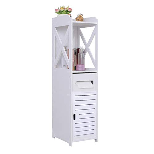 Bathroom Cabinet, Fresh Household Mini Bathroom Shelf to Storage Tissue Dispensers Organizer Rack by Fresh Household (Image #7)