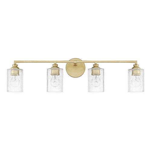 Capital Lighting 120541CG-422 Four Light - Gold Bathroom Light Vanity