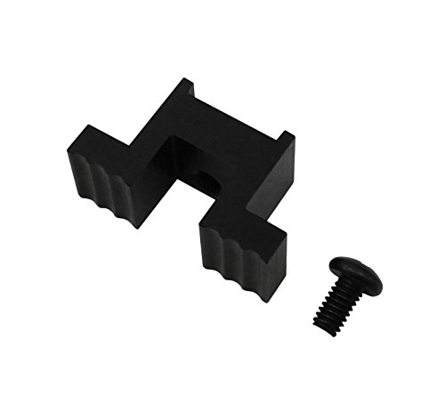 6061 Black Anodized Extended Mag Release Lever Designed for Ruger Precision Rifle Extended Lever (Black) ()