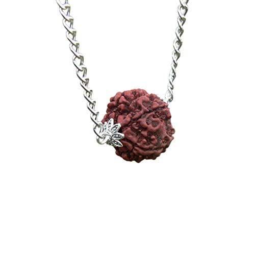 Rudraksha mala protection jewelry. women HANDMADE Hindu Shiva necklace for men