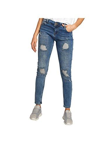 Just Rhyse Femme Jeans/Jean Boyfriend Bubbles Bleu