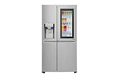 Amerikanischer Kühlschrank Edelstahl : Lg gsx nsaz stand alone l a graphit edelstahl kühlschrank