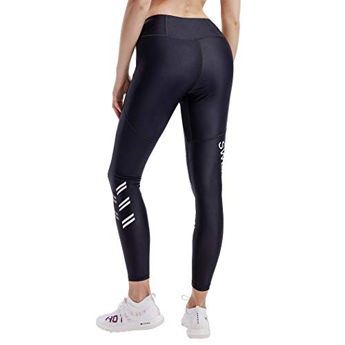 HOTSUIT Sauna Pants Weight Loss for Women Compression Leggings Hot Sweat (Black, Large)