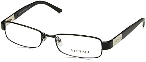 VERSACE VE1121 VE 1121 1009 BLACK METAL FRAME EYEGLASSE-53mm by Versace