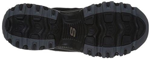 Black D'Lites Skechers WoMen Boots Black Bf0q7xw