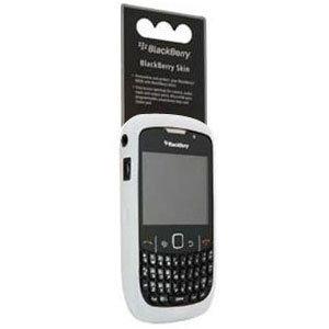 - White Soft Flexible Durable Gel Skin Silicone Case for Blackberry Curve 8520 Gemini