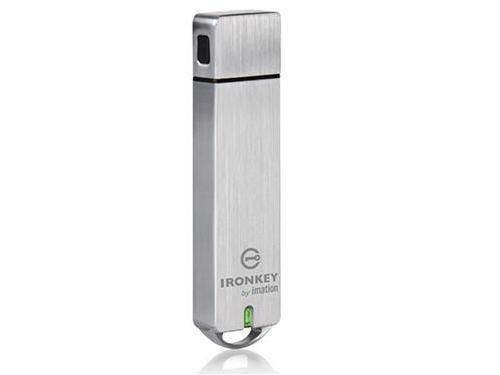 Ironkey Basic S1000 USB Flash Drive (IK-S1000-16GB-B) -
