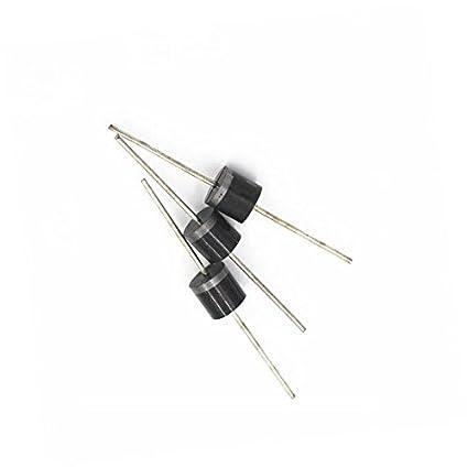 200pcs 6A10 6 Amp 1000V 6A 1KV Axial Rectifier Diode