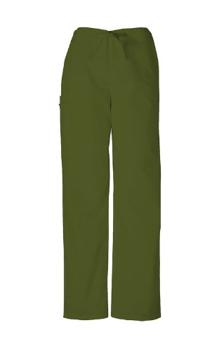 9c6915af868 Scrubs - Authentic Cherokee Workwear Unisex Scrub Pant (Olive, 3XL) by  Cherokee