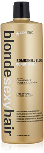 (SEXYHAIR Blonde Bombshell Conditioner, 33.8 fl. oz.)