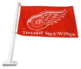 Rico Industries NHL Detroit Red Wings Car Flag