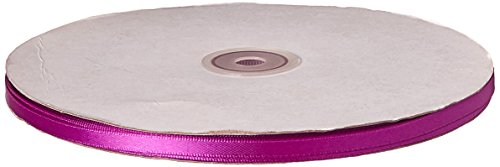 Kel-Toy Double Face Satin Ribbon, 1/4-Inch by 100-Yard, Violet