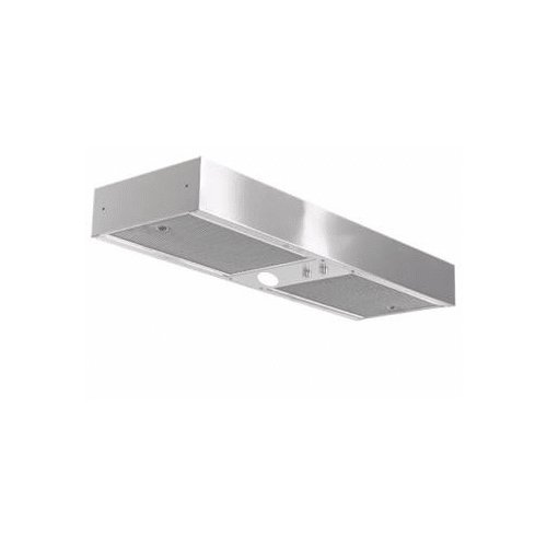 Imperial C2036SD4-12 430 CFM 36' Wide Range Hood Insert with Air-Ring Fan and Re, Stainless Steel
