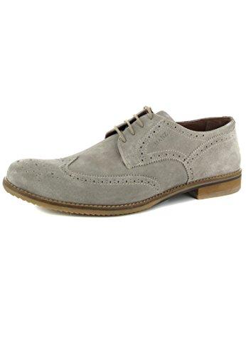 Pescara mANZ-homme-gris-chaussures en matelas grande taille