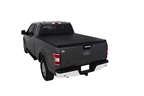 Lund 90998 Genesis Elite Snap Truck Bed Tonneau Cover for 2016-2018 Nissan Titan XD | Fits 6.5' Bed w/Utili-Track & Titan Box (Titan Track Nissan Utili)