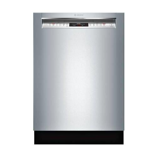 "Price comparison product image Bosch SHEM78W55N 24"" 800 Series Built In Full Console Dishwasher with 6 Wash Cycles,  in Stainless Steel"