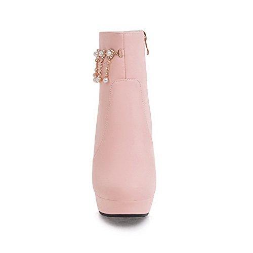 Naisten toe Uretaani Vaaleanpunainen Sulkemisen Mukavuutta No Saappaat Balamasa Teräväkärkiset dW1qfFpEdH