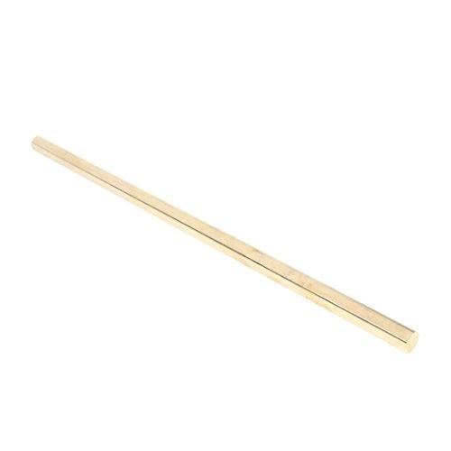 nouler juler Barra Redonda de latón Macizo de 10 'para tornear y fresar Orificios, diámetro 9 mm