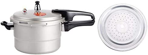 EXPLOSION-PROOF HOUSEHOLD PRESSURE COOKER WITH STEAMING LAYER MULTI FUNCTION COOKER FOR GAS ELECTRIC CERAMIC STOVE(20CM)