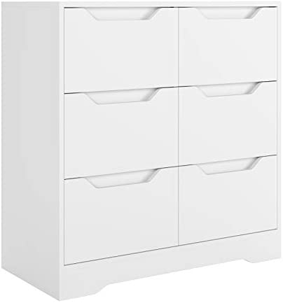 HOMECHO 6 Drawer Chest