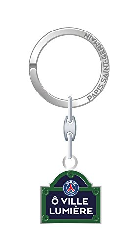 GSP PSG Paris Saint-Germain Key Street Light Keyring in Blister Pack Unisex Child, Black LAPLT|#La Plume Dorée 173PSG601RUE