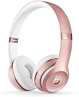 Beats Solo3 Wireless On-Ear Headphones – Rose Gold Renewed