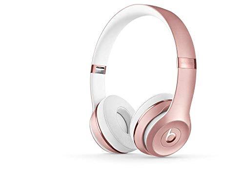 Beats Solo3 Wireless On-Ear Headphones – Rose Gold (Renewed)