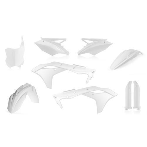 Acerbis Full Plastic Kit - White (Acerbis Plastic Kits)