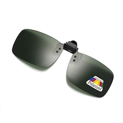 fa94647fd09 Polarized Clip-on Sunglasses Lenses for Outdoor Walking Fishing Driving  Cycling. Tap to expand