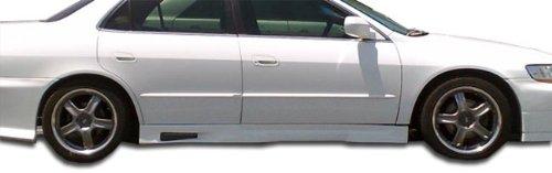 Duraflex Replacement for 1998-2002 Honda Accord 4DR Spyder Side Skirts Rocker Panels - 2 Piece