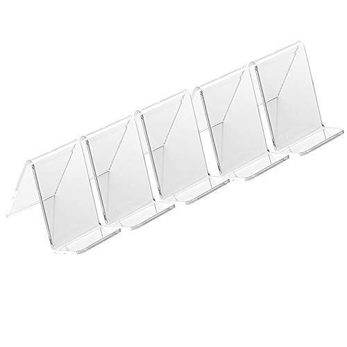 - 5 Pack Clear Show Rack Display Holder Mount Stand for Mobile Cell Phone iPhone Display Stands