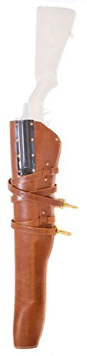 Rifle Saddle Scabbard (Ultimate Arms Gear Tactical Militaria U.S. Army Military GI USGI WW2 WWII United States Reproduction Genuine Leather M-1 M1 Garand Rifle Scabbard Holster)