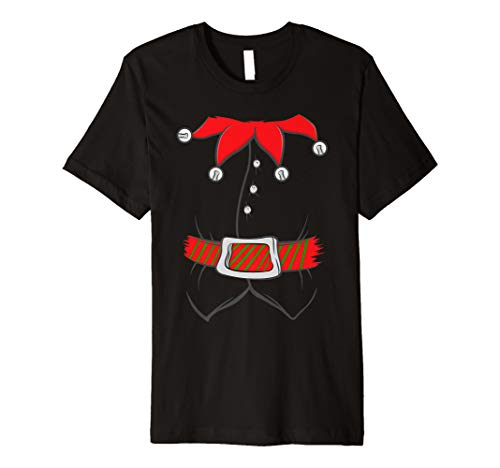 Elf Costume Santa Claus Helper Christmas Winter Holidays Premium ()