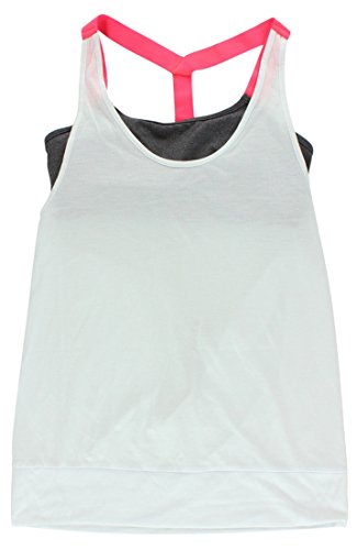 Alo Yoga Womens Current Tank Top White (Alo Womens Shell)