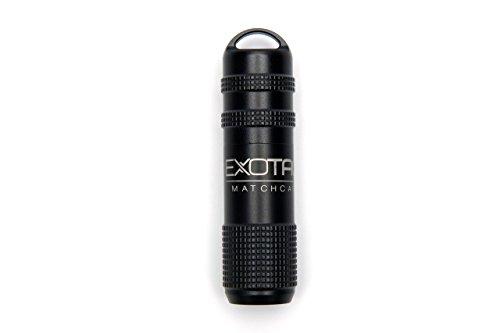 Exotac MATCHCAP Firestarter Black
