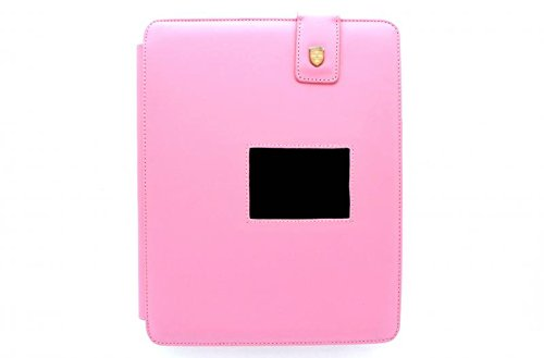 Swiss Leatherware Bank for Apple iPad - Pink by Hypercel