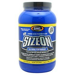Gaspari Nutrition Maximum Performance SizeOn - Arctic Lemon Ice - 3.49 lb - Gaspari Nutrition Vitamins Supplements
