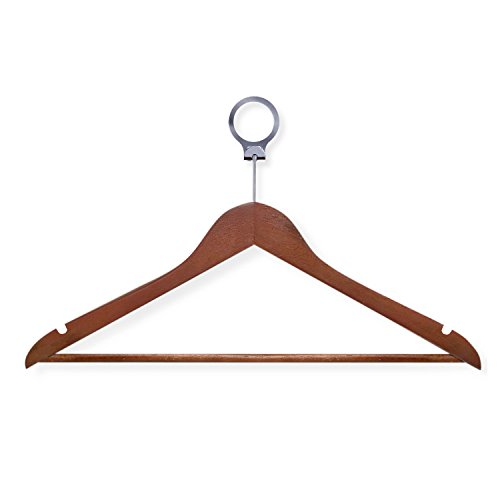 Honey-Can-Do HNG-01734 Hotel Suit Hangers, Cherry, 24-Pack