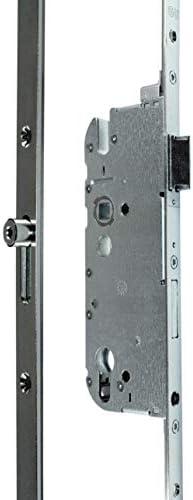 GU Secury 6-26465 - Cerradura para puerta R4 con pivote enrollable, mandril: 65 mm, distancia: 92 mm, puente: 20 mm, rectangular, DIN izquierda/derecha, incluye Instrucciones de montaje SN-TEC®: Amazon.es: Bricolaje y herramientas