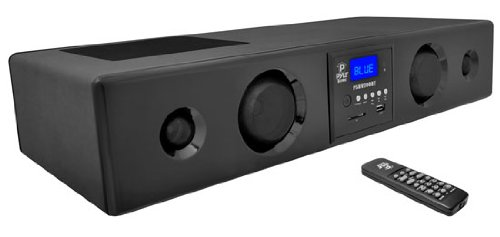 Pyle 300 Watt Bluetooth Soundbar with USB/SD/FM Radio and Wireless Remote (Black) (PSBV200BT ) by Pyle