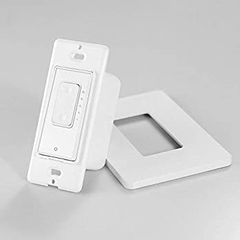 Smart Dimmer Switch by Martin Jerry, Dimmer Switch for LED Lights, Single Pole, Compatible with Alexa as WiFi Light Switch Dimmer, Works with Google Assistant, No Hub, Need Neutral Wire